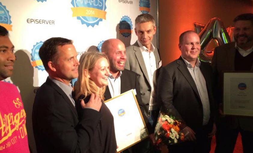 episerver awards 2014 nansen