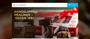 Åre Chokladfabrik, e-handel, Wordpress E-handel system, Nyheter, Wordpress