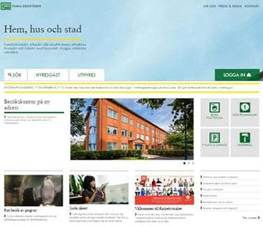 EPiServer CMS 7, Familjebostäder, söderhavet, Visma Consulting Episerver, Nyheter, Responsive Design / Mobilwebb