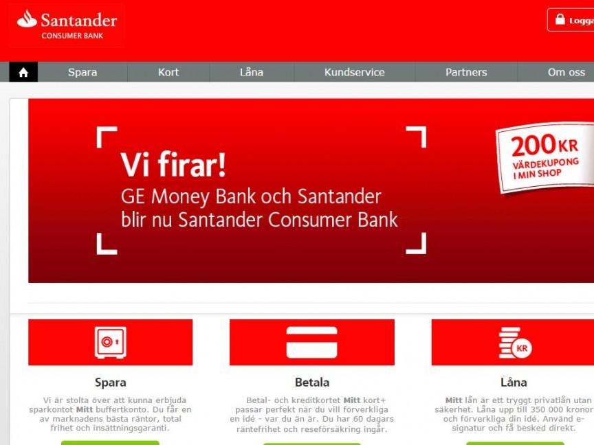 episerver 7, Peter Leijonspjuth, Santander Bank, santanderconsumer.se Nyheter