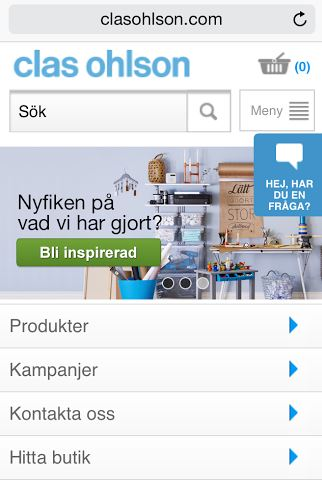 clas ohlson android laddare