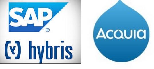 Acquia, Drupal 7, Hybris, hybris-as-a-service, sap, YaaS Drupal, E-handel, Java, Nyheter, Open source PHP, SAP Commerce Cloud, Teknik
