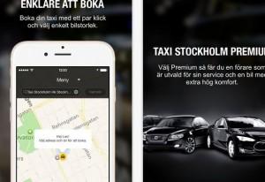 taxi stockholm app
