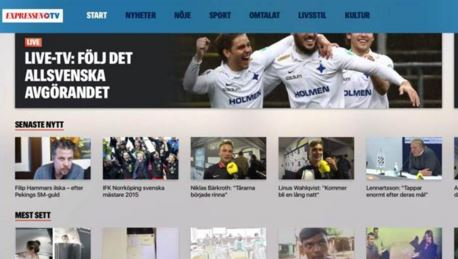 expressen apple tv
