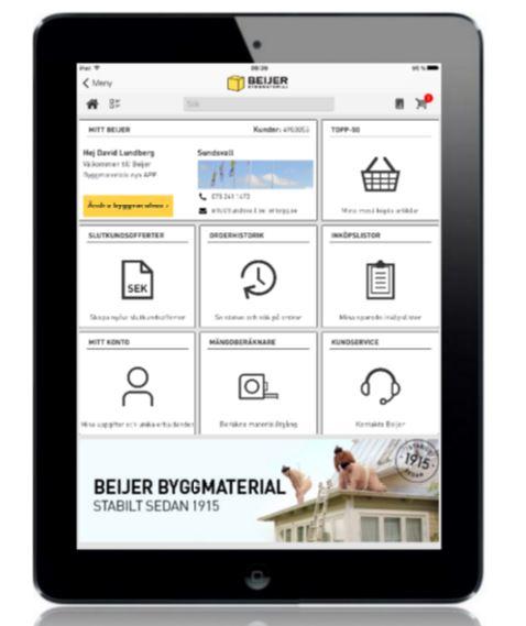 Beijer app