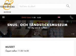 snusochtandsticksmuseum