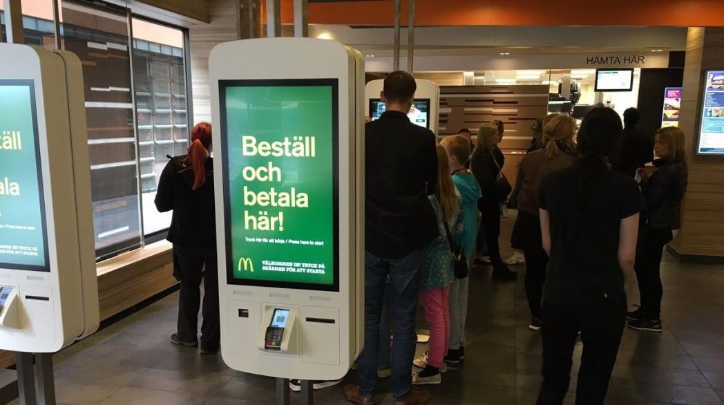 Mcdonalds Svarar Max Erbjuder Seg Omnikanal Via