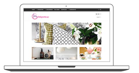 Dekorette, eValent, Nordisk E-handel E-handel, Nyheter