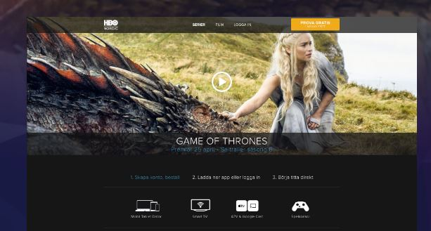HBO Sverige, Stök, Wordpress Nyheter, Wordpress