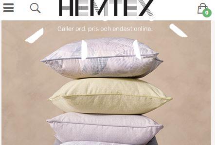 hemtex 40 år Hemtex uppdaterar nio år gammal e handelslösning med hjälp av  hemtex 40 år