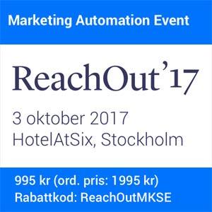 Använd koden ReachOutMKSE