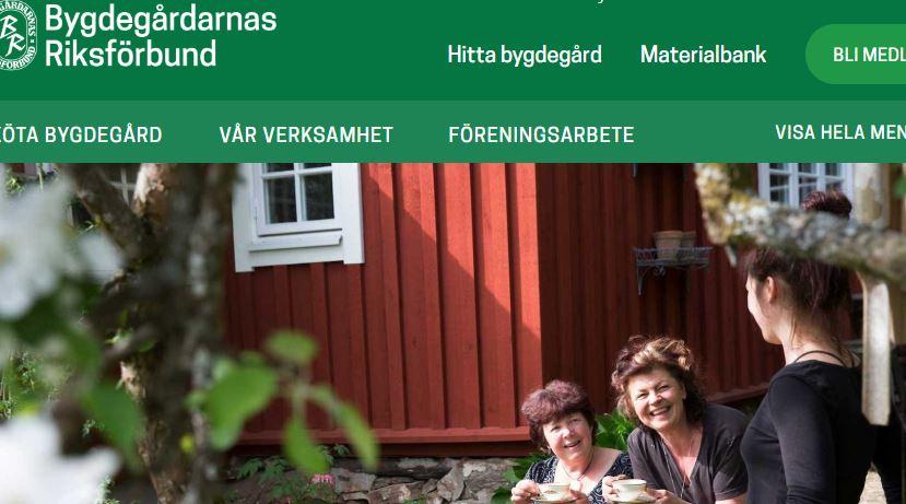 Bygdegårdarnas Riksförbund, osolo, Wordpress Nyheter, Wordpress