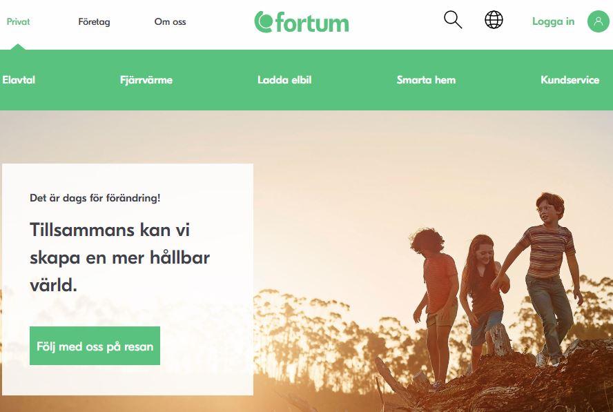 Acquia, Acquia Cloud, Acquia Cloud Site Factory, Drupal 7, Fortum, fortum.com, Fortum.se, Mirium Cloud / Förvaltning, CXM, Drupal, Nyheter