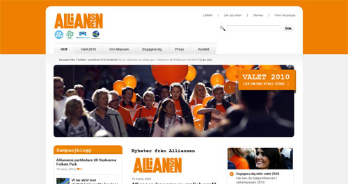 alliansen, Alliansen.se, Alliansensvanner, Facebook Connect, Moderat.se, Ungallians2010, Wordpress Gratis, Nyheter, Offentlig sektor, Språkstöd, Wordpress