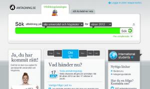 antagning.se, EPiServer 7.5, Mathias Strandberg, valtech, VHS Episerver, Nyheter