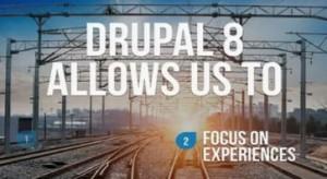 drupal 8 experiences