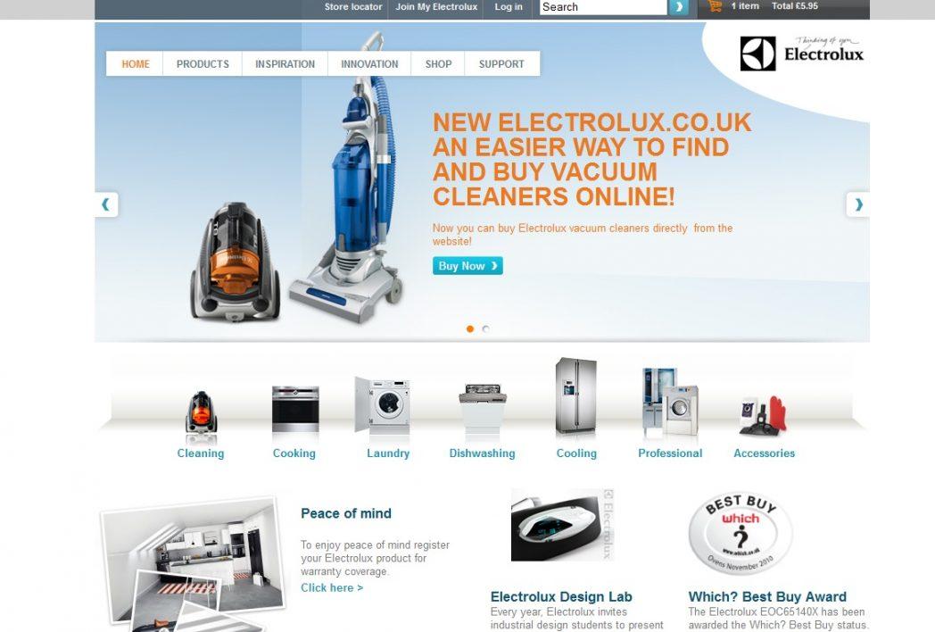 electroluxm episerver commerce