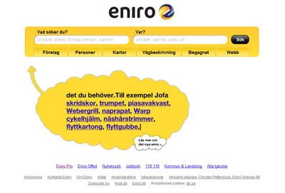 eniro, flash, jquery, Polopoly Atex Nyheter, Polopoly Atex