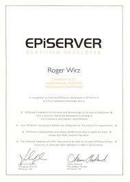 episerver commerce certifiering