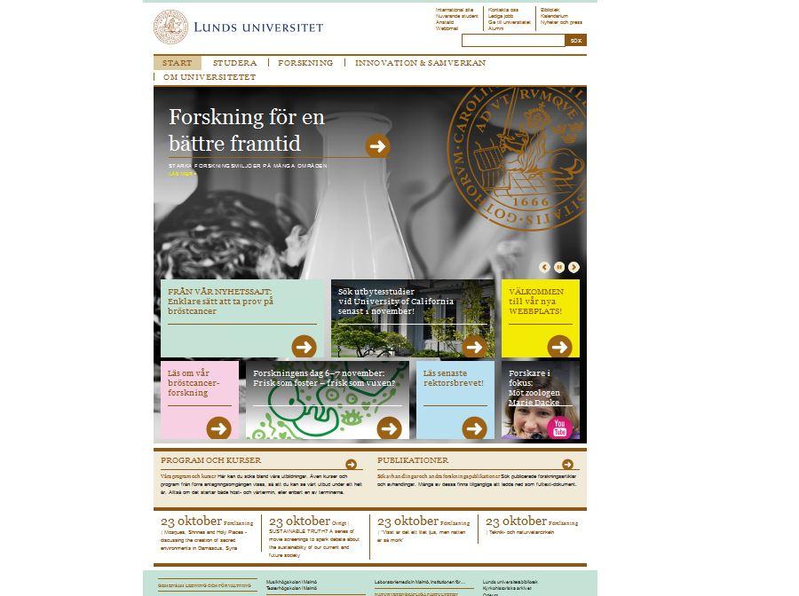lunds universitet drupal