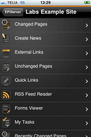 EPiServer 7.5, EPiServer MobileCenter, iPhone app Episerver, iPad, iPhone, Nyheter