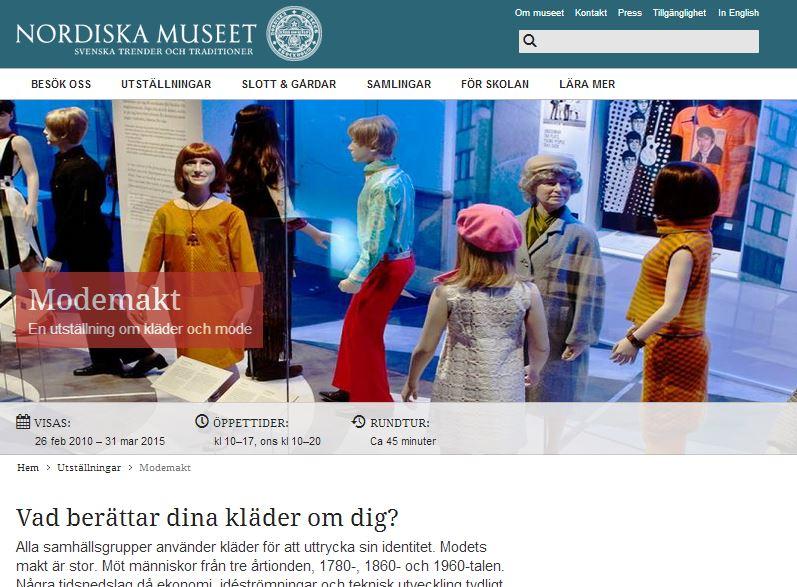 creuna, Drupal 7, happiness, Nordiska museet, Nordiskamuseet.se Drupal, Offentlig sektor