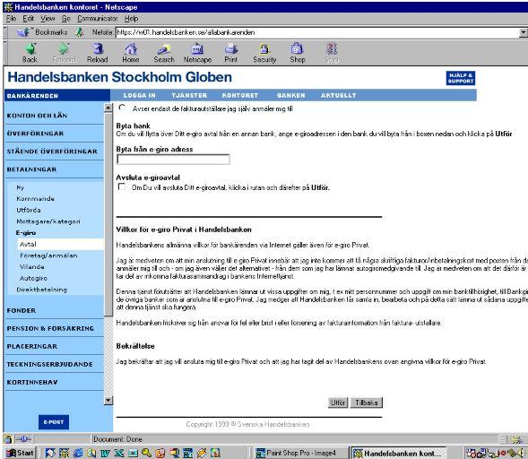 handelsbanken internet banking