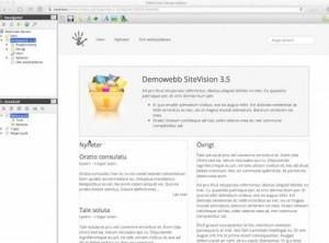 sitevision 3.5 gui