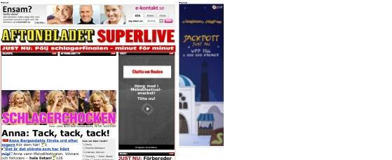 aftonbladet.se, CoverItLive, Shootitlive, SuperLive, twingly, Twitter Chatbots, Community, Facebook Pages, Escenic, Featured, Flash, iPhone, Javascriptramverk, Nyheter, Play-kanal / Multimedia, Responsive Design / Mobilwebb, Sociala media / web2.0, Streaming, XCAP