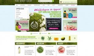 .net, e-handel, litium, The Body Shop E-handel system, Microsoft .NET