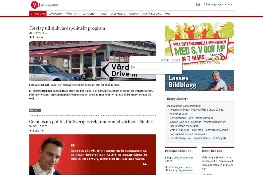 joomla, vänsterpartiet, Vansterpartiet.se Joomla, Nyheter, Offentlig sektor