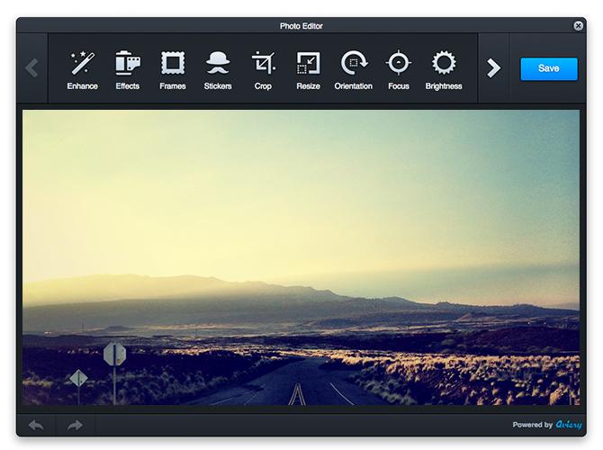 Adobe Photoshop, Aviary, bildredigering, Bomomo, DAM, DarkRoom, Harmony, HTML5, Muro, Pixastic, Sketchpad Javascriptramverk, Play-kanal / Multimedia